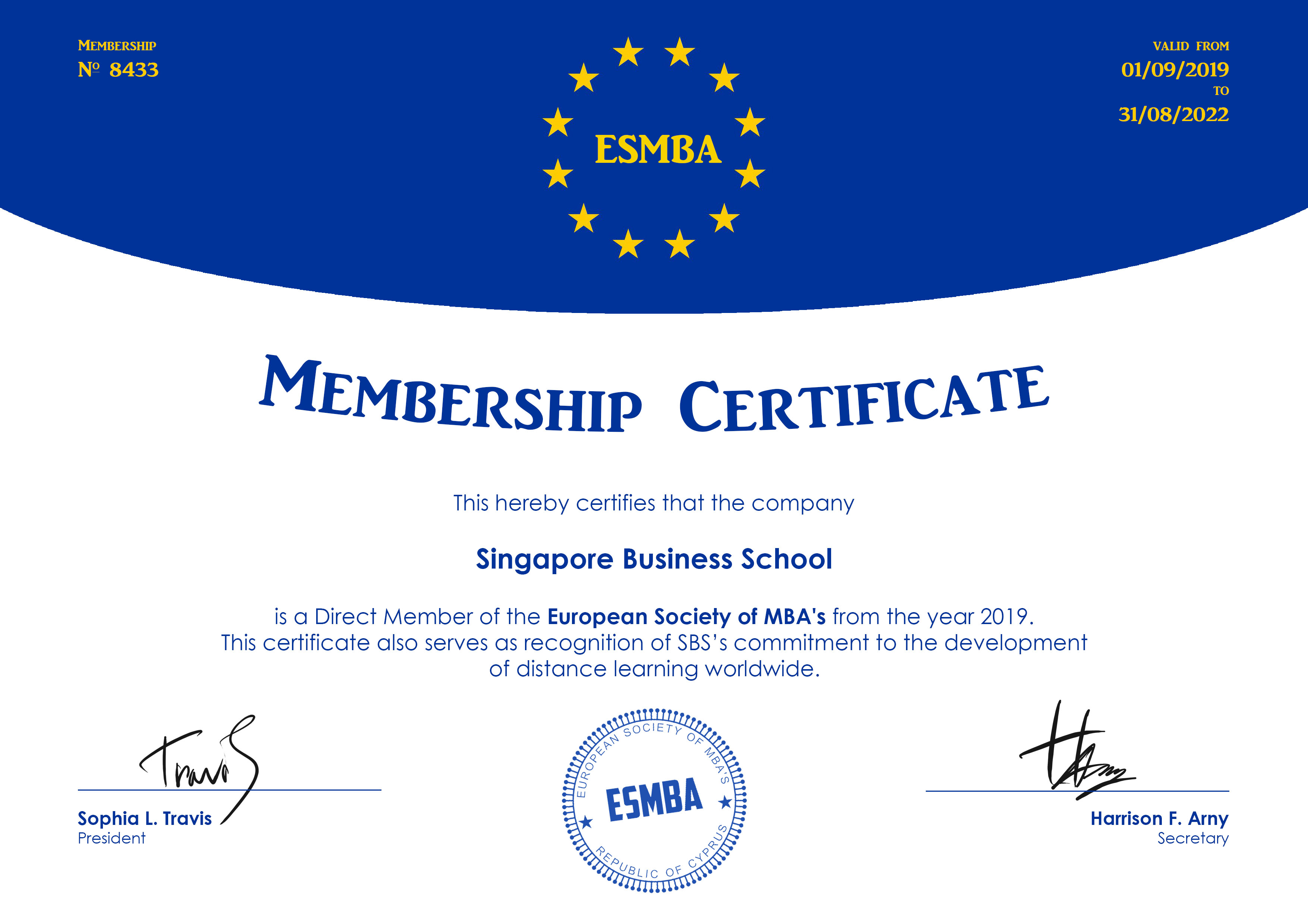 European Society of MBAs