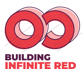 Building Infinite Red podcast logo