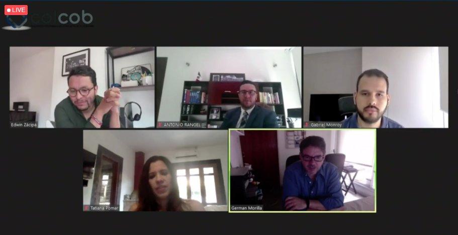 Panel de los Emprendedores Digitales en Cobranza. Mega Congreso Colcob