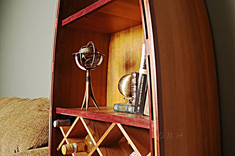 Brass Armillary On Horn Stand