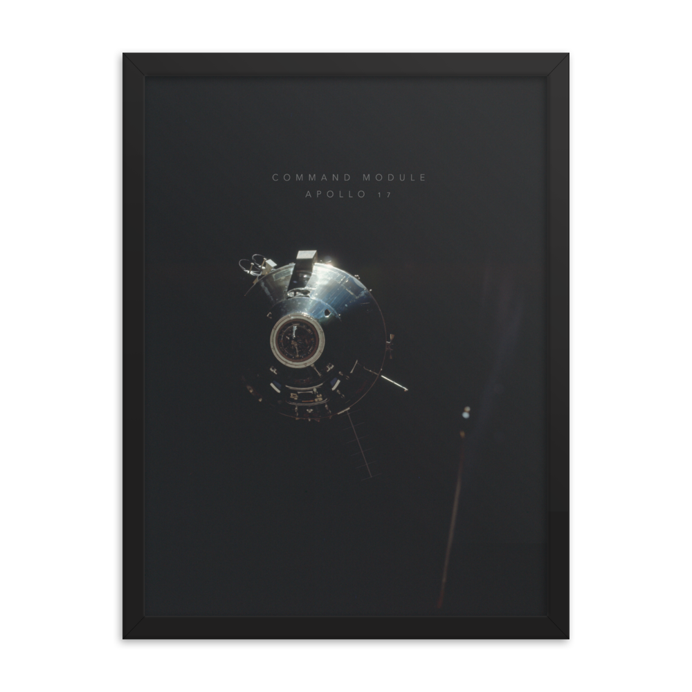 Apollo Command - Framed