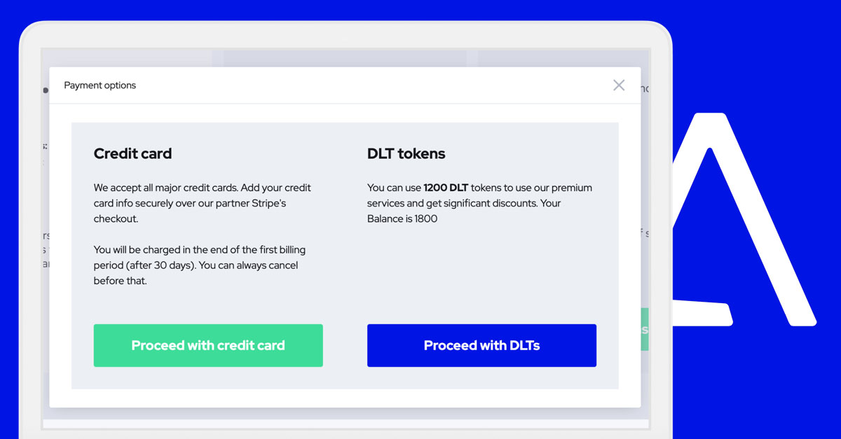 DLT tokens can now be used to access .ID premium plans