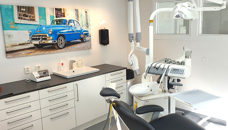 behandlingsrom hos tannlegene Nikolaisen