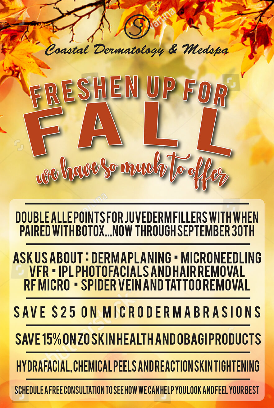 Freshen Up for Fall