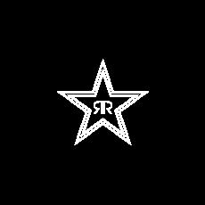 Rockstar Energy logo.