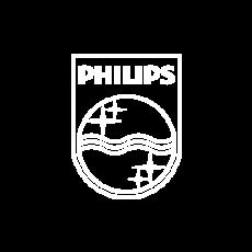 Philips logo.