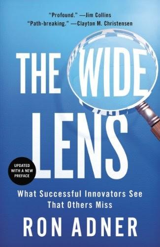 Innovation Leader Books, The Wide Lens, Ron Adner