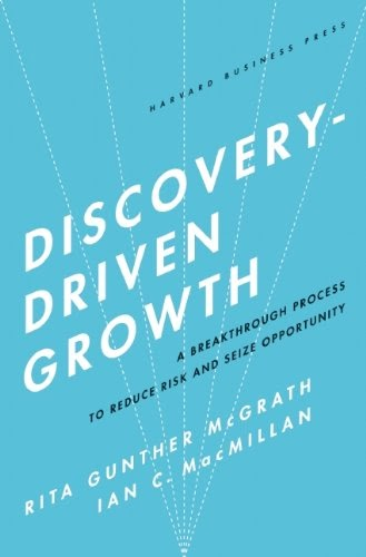 Innovation Leader Books, Grow From Within, Discovery Driven Growth, Rita Gunther McGrath, Ian McMillan