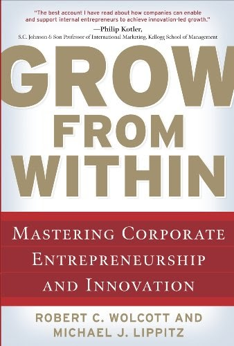 Innovation Leader Books, Grow From Within, Robert C. Wolcott, Michael J. Lippitz