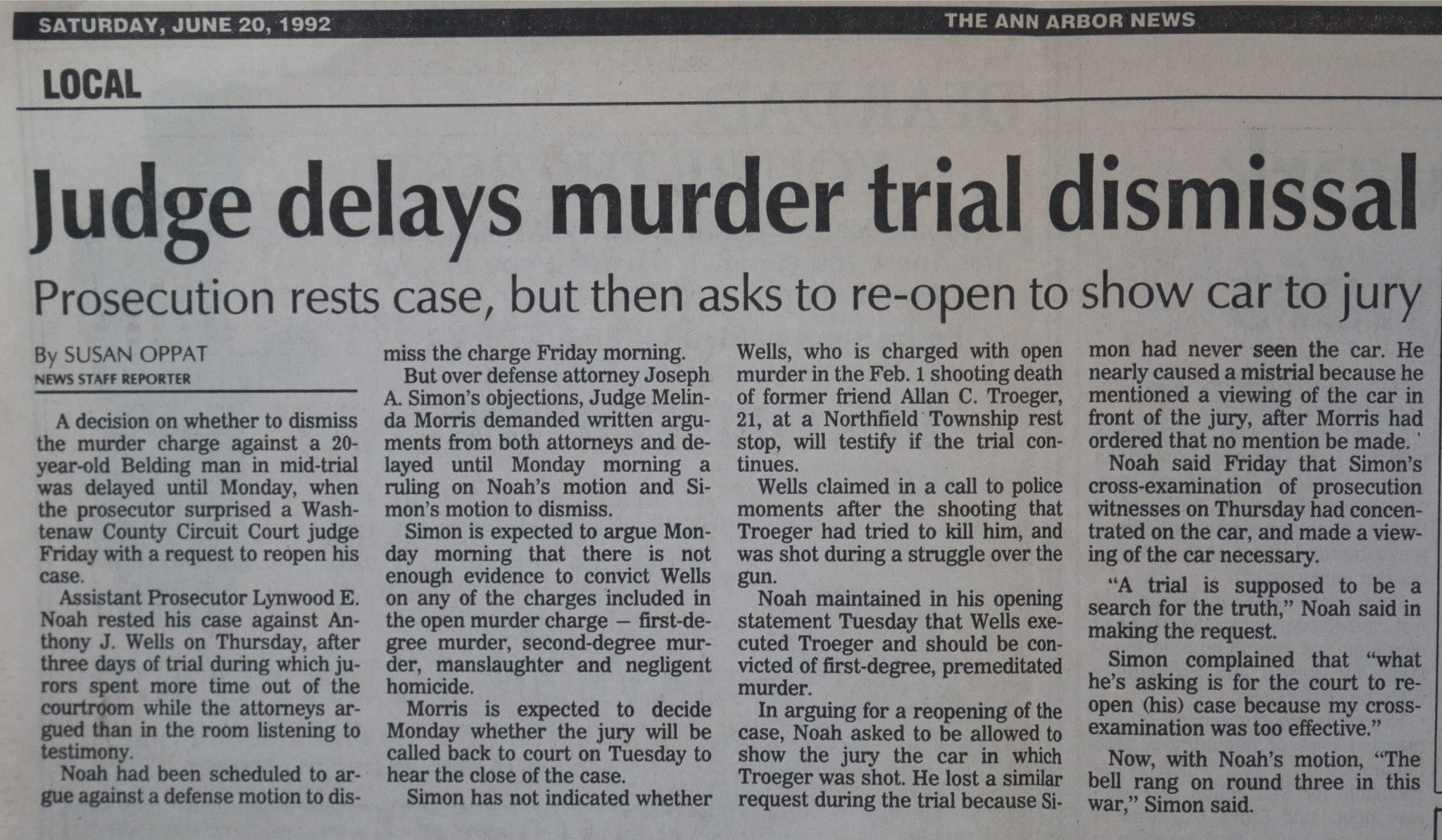 ann arbor murder defense attorney
