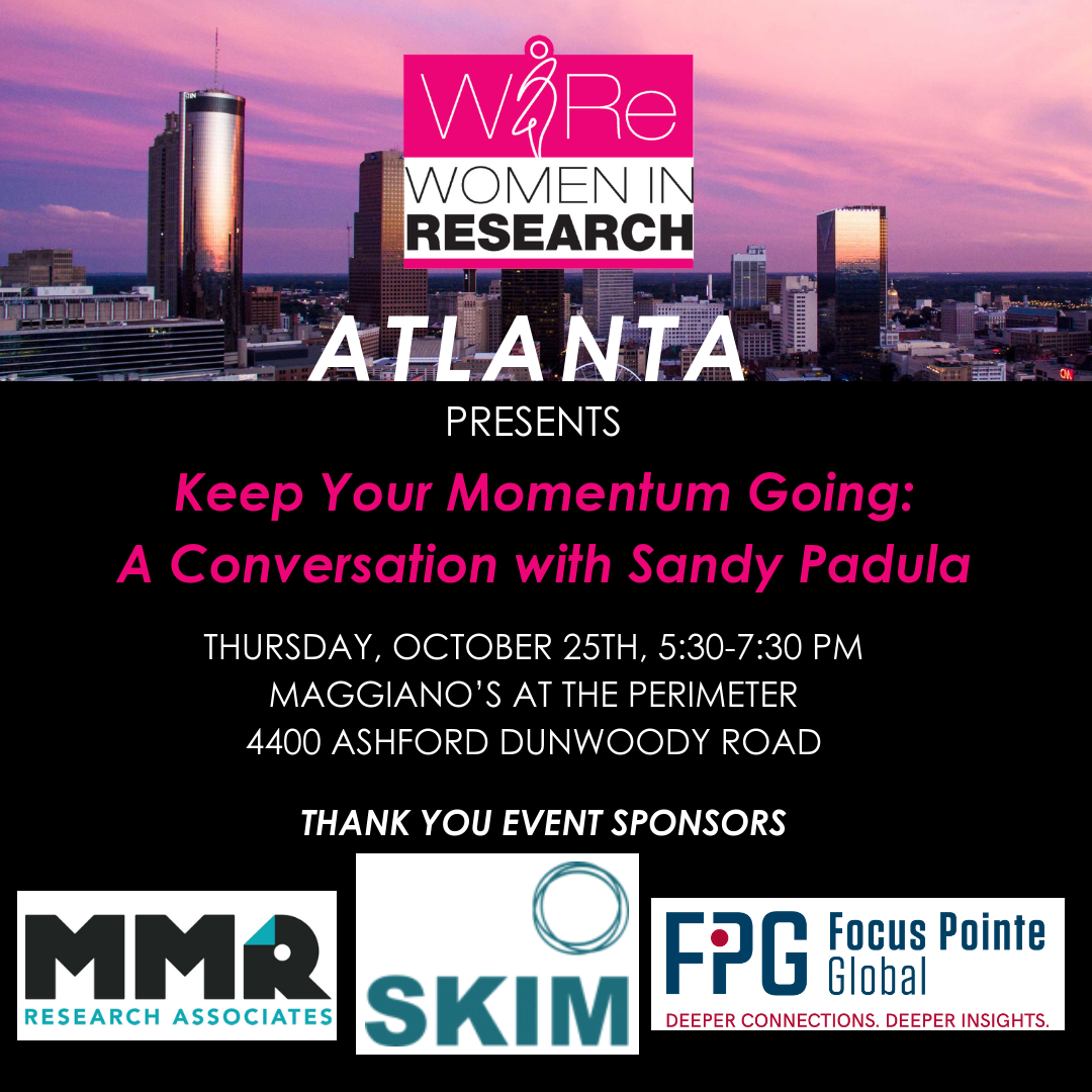 Keep Your Momentum Going:  A Conversation with Sandy Padula