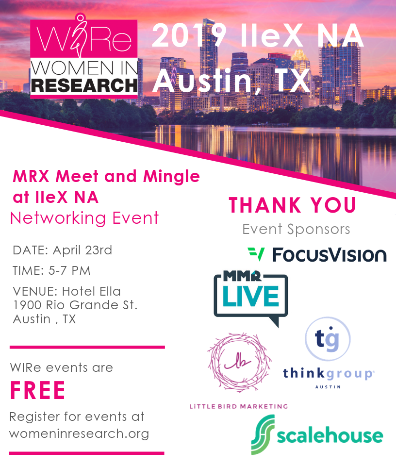 MRX Meet and Mingle at IIeX NA 2019