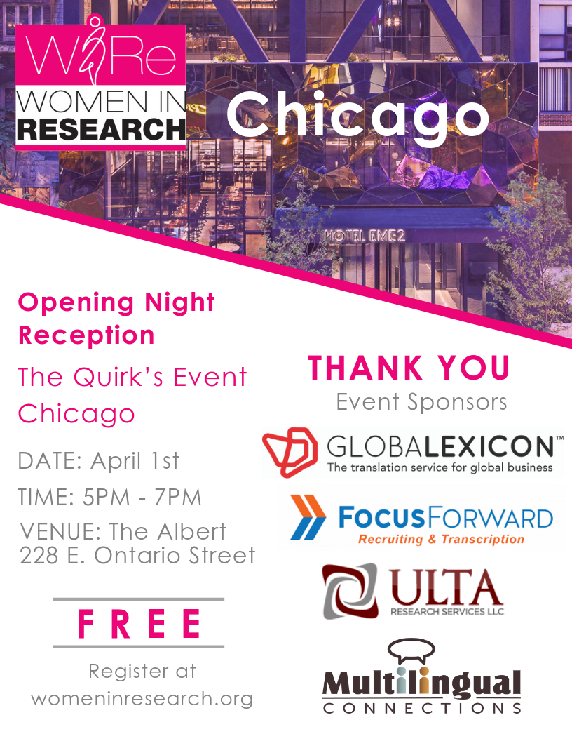 Opening Night Reception: The Quirk's Event Chicago