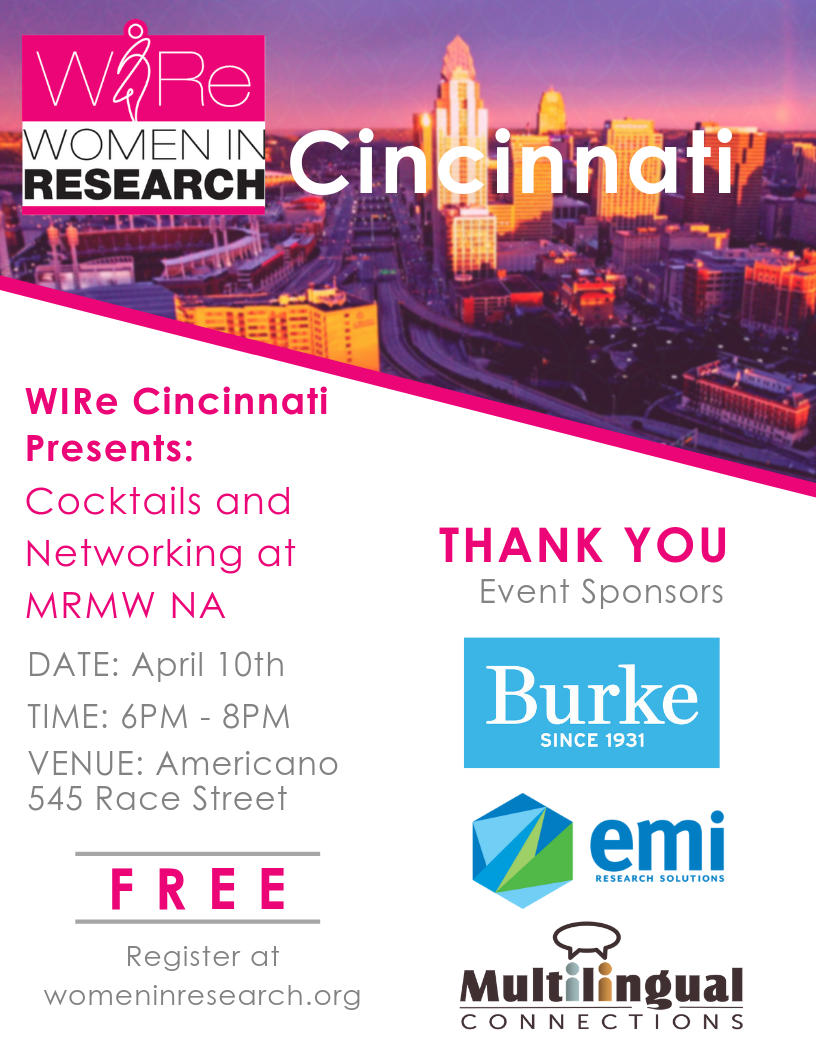 Cocktails and Networking at MRMW NA