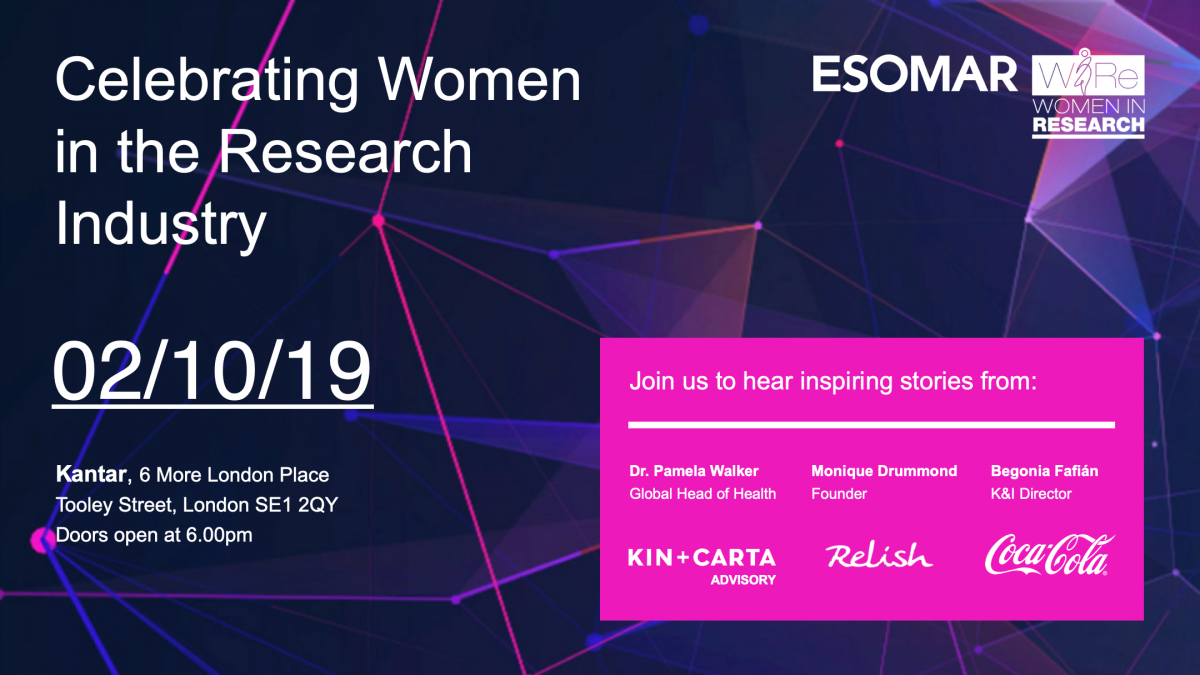 Celebrating Women in the Research Industry
