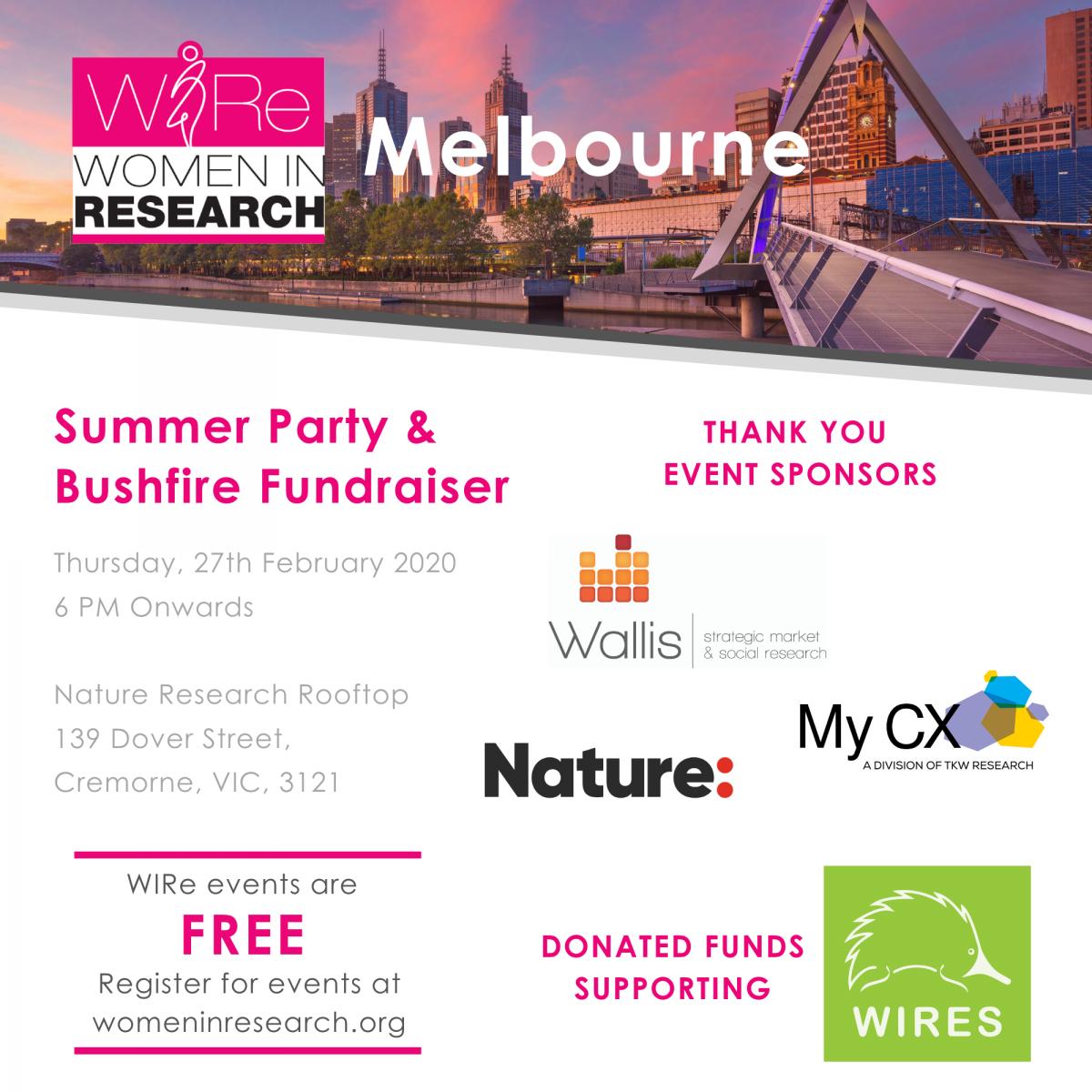 Summer Party & Bushfire Fundraiser