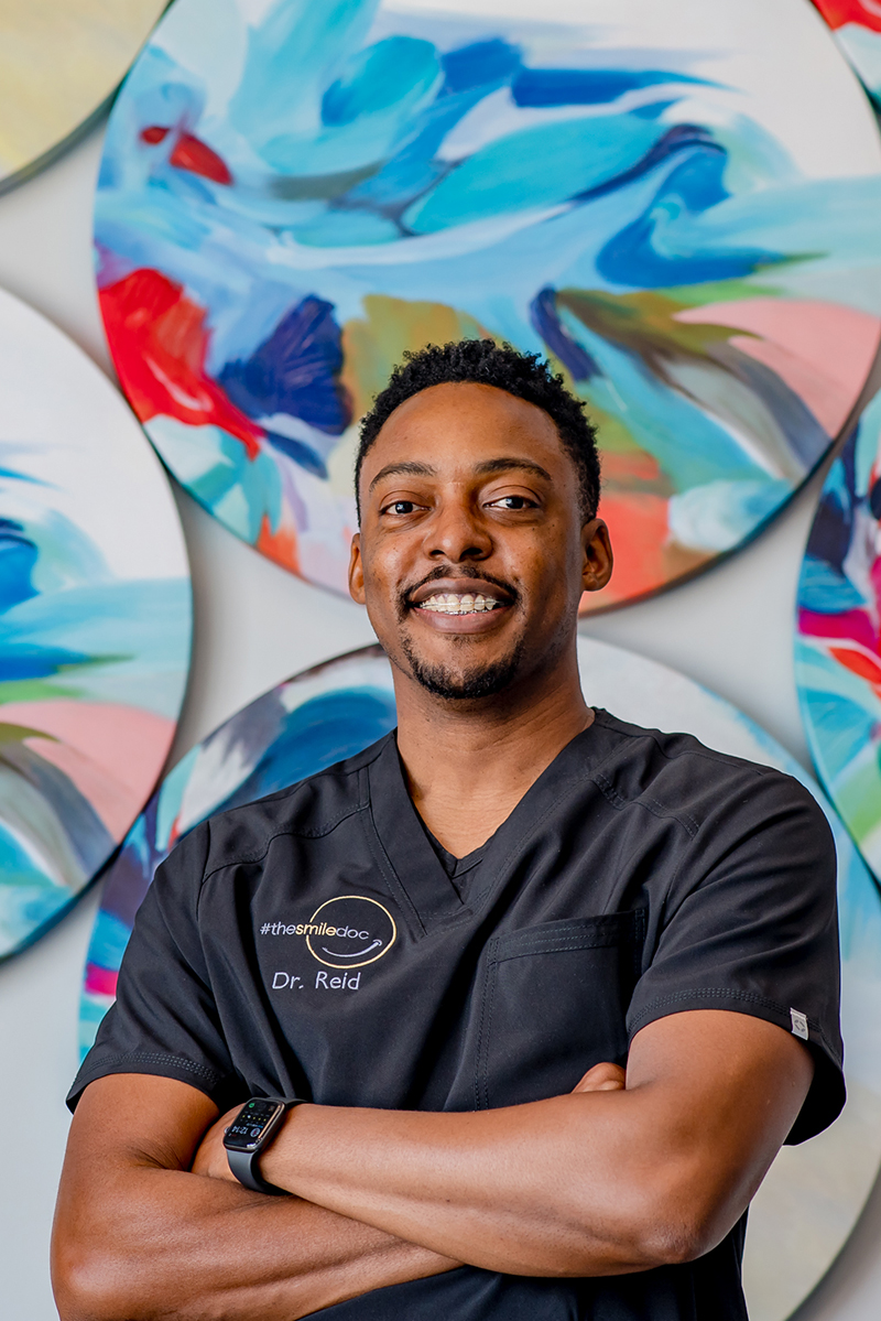 black dentist leander dr. armando reid