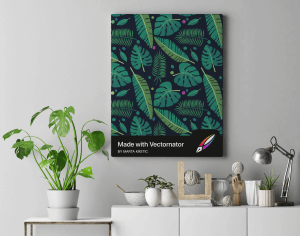 what are vector graphics? Printed Vector Poster