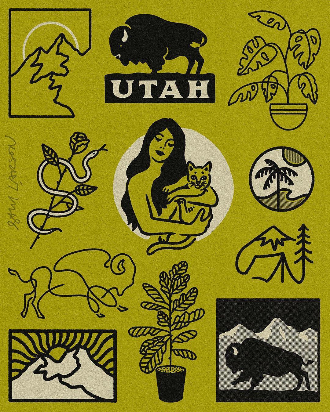 famous graphic designers sam larson