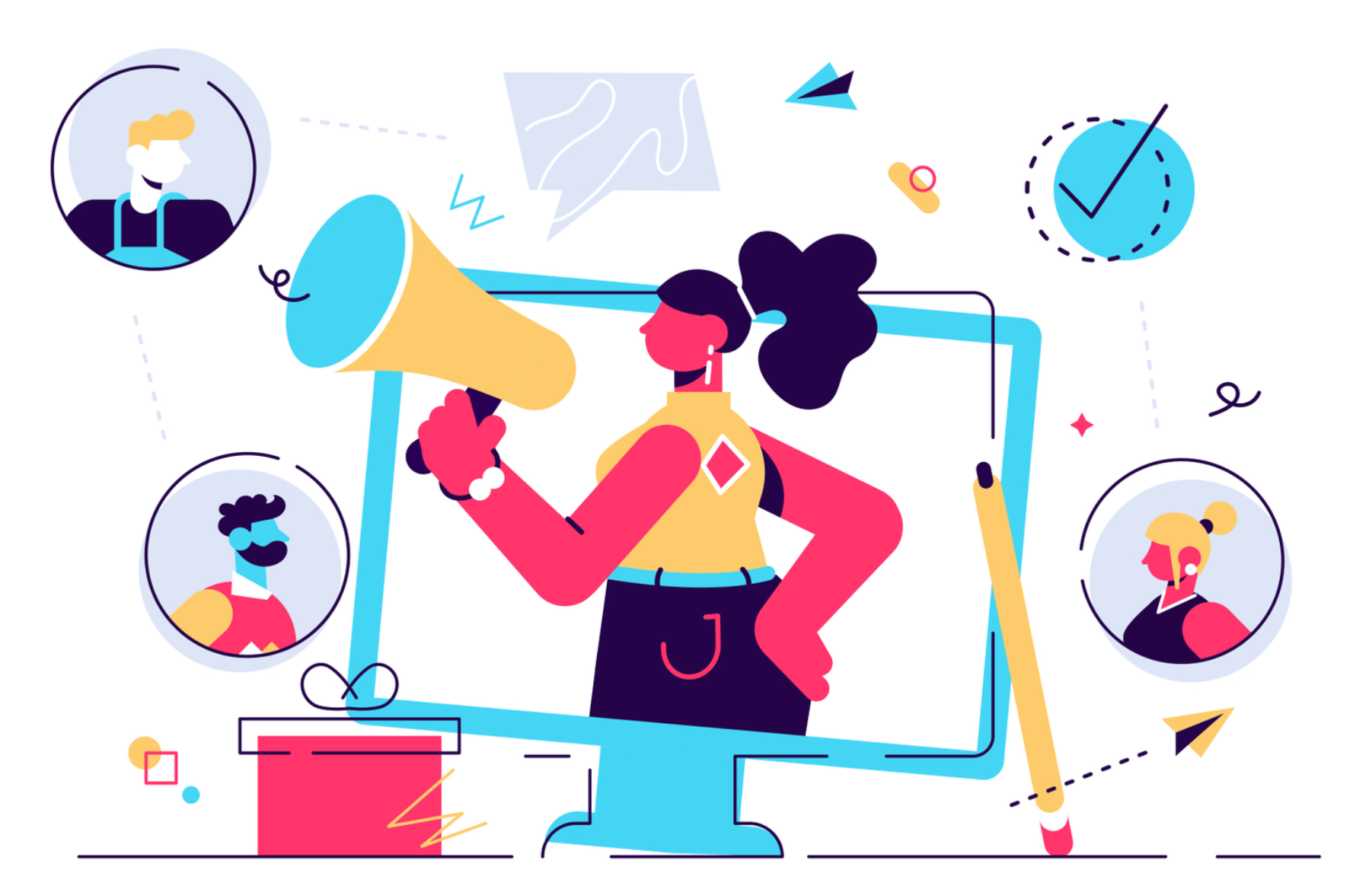 design storytelling audience