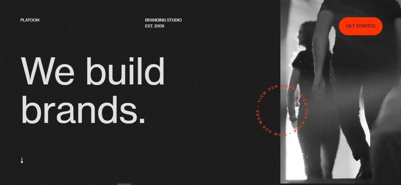 minimalist design website