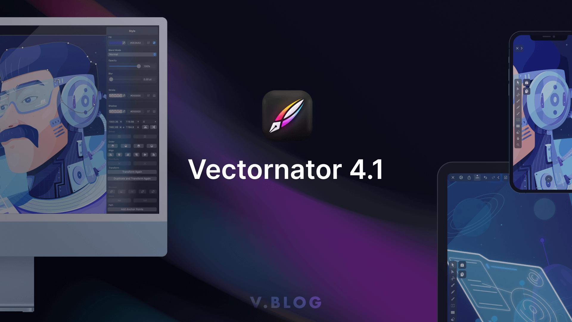 Vectornator 4.1