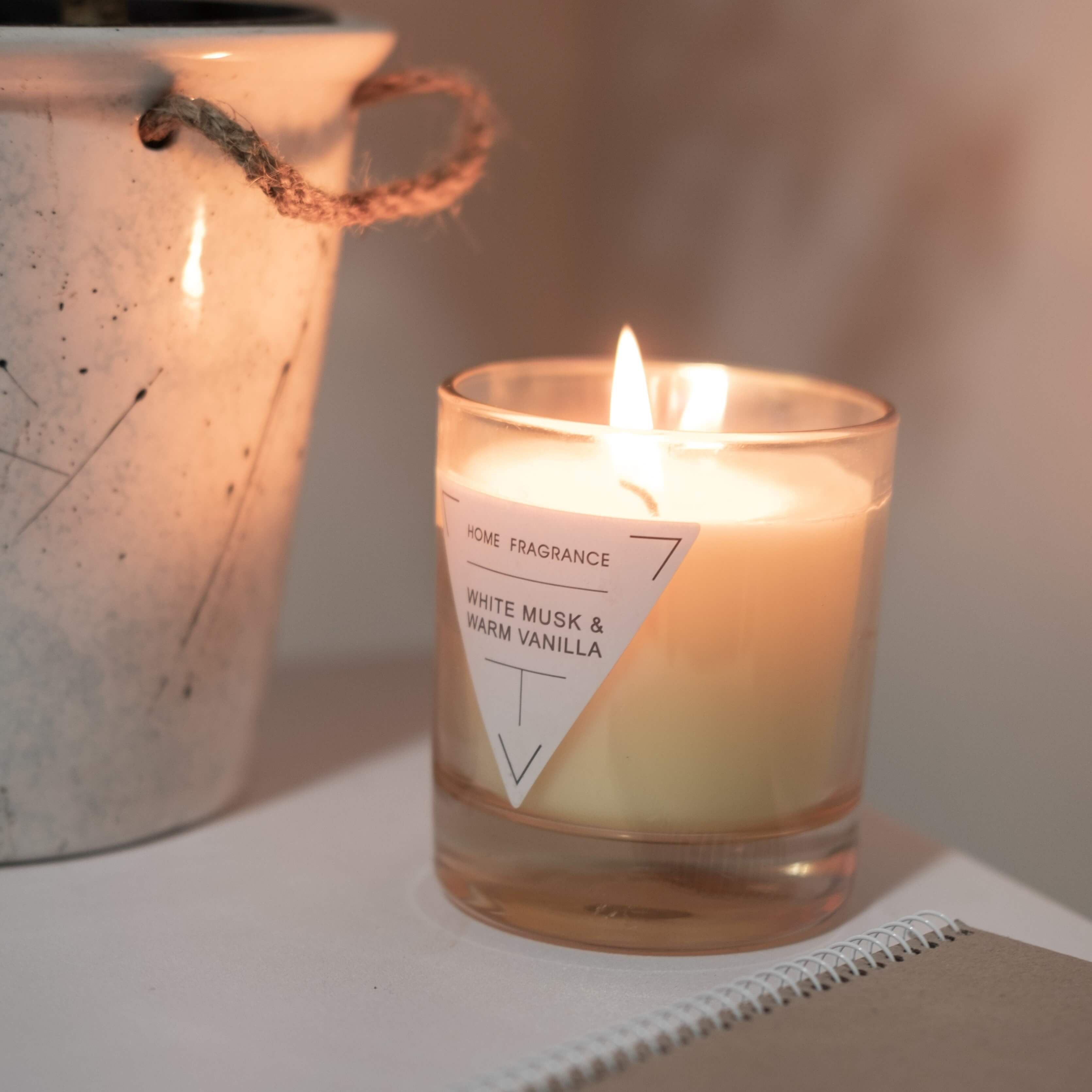 create candle label