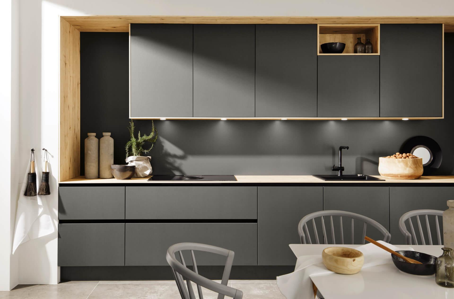 Nolte Tavola Grey Kitchen