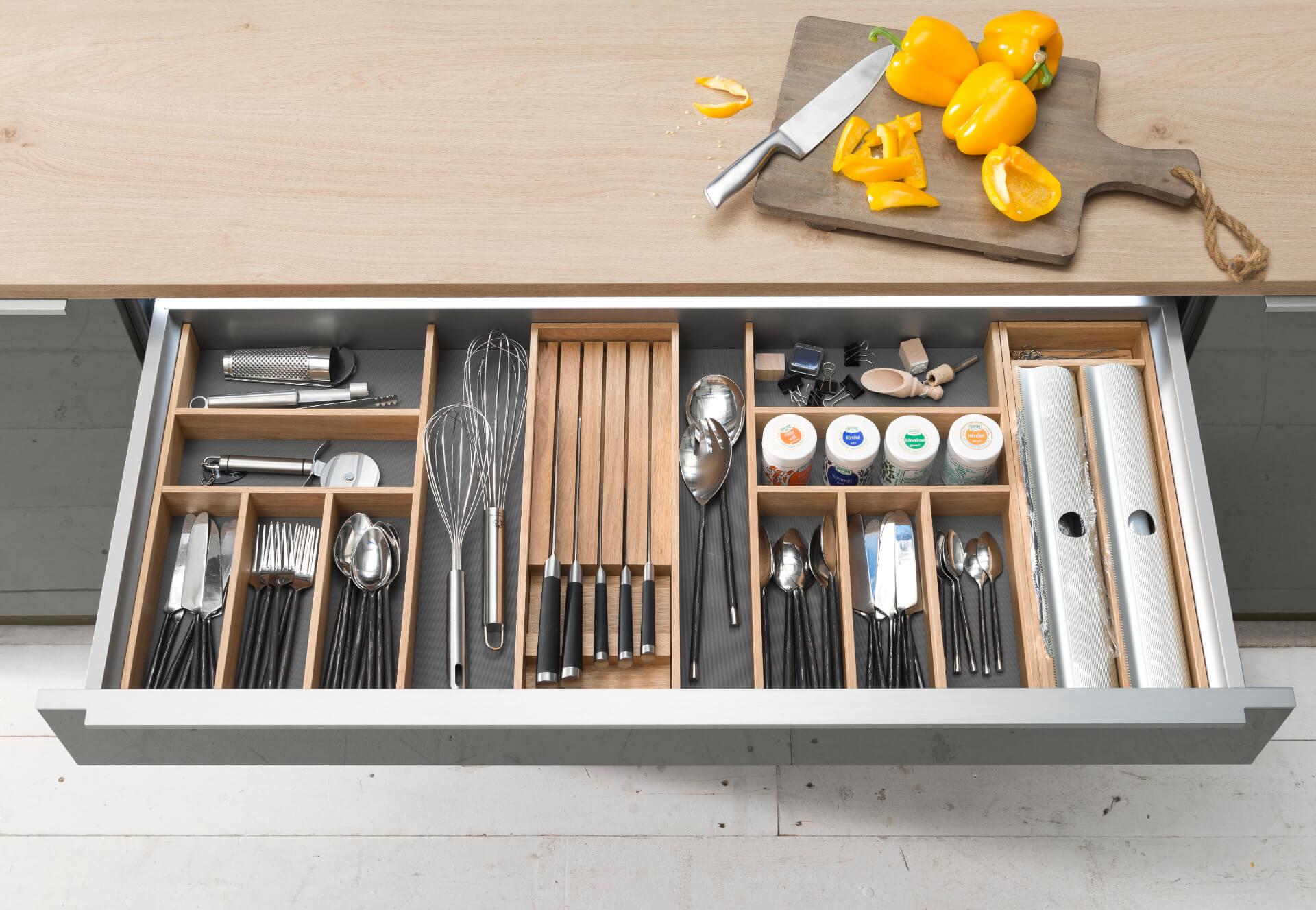 Nolte Tavola Shallow Kitchen Drawer