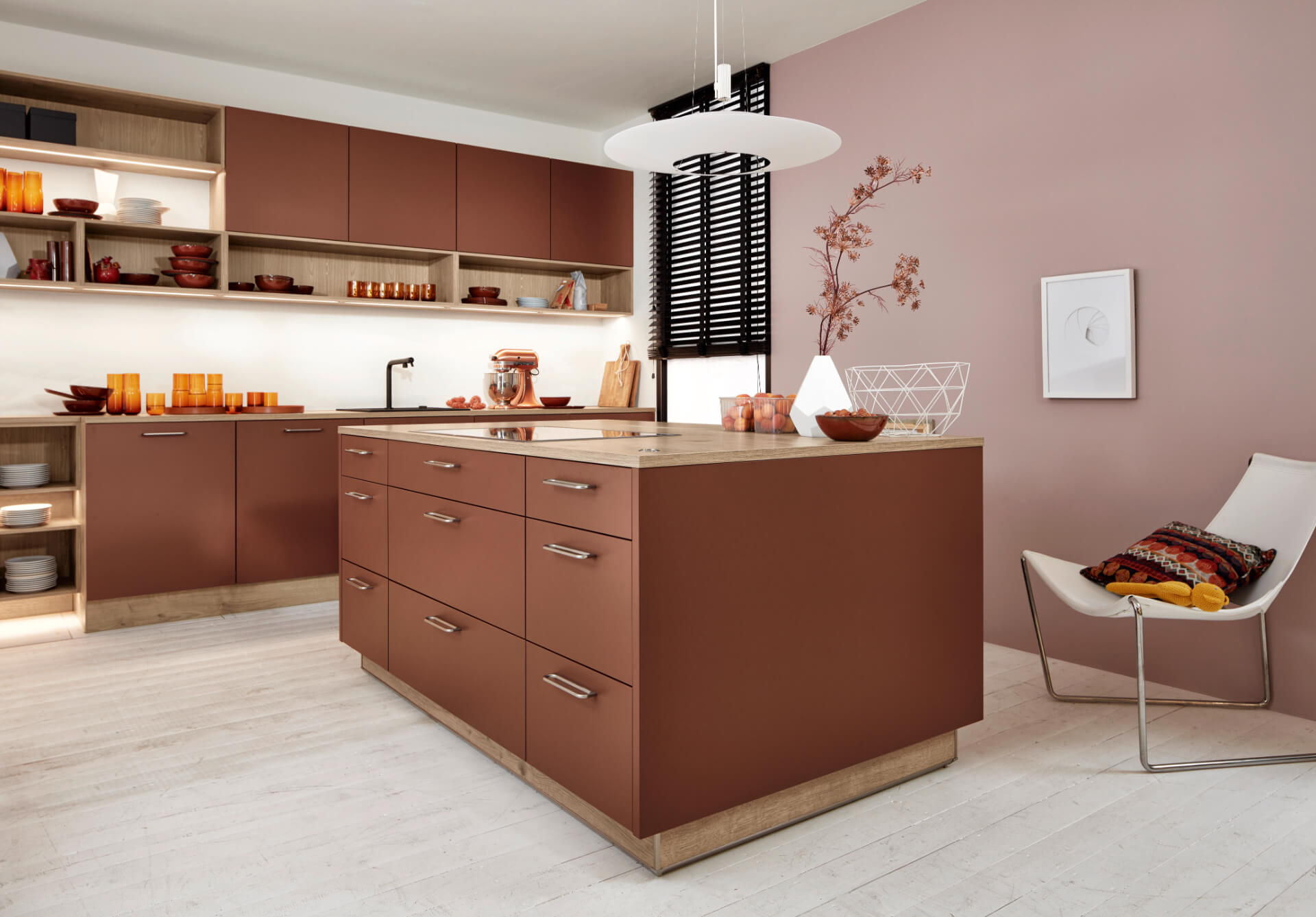 Nolte Manhattan Brown Kitchen