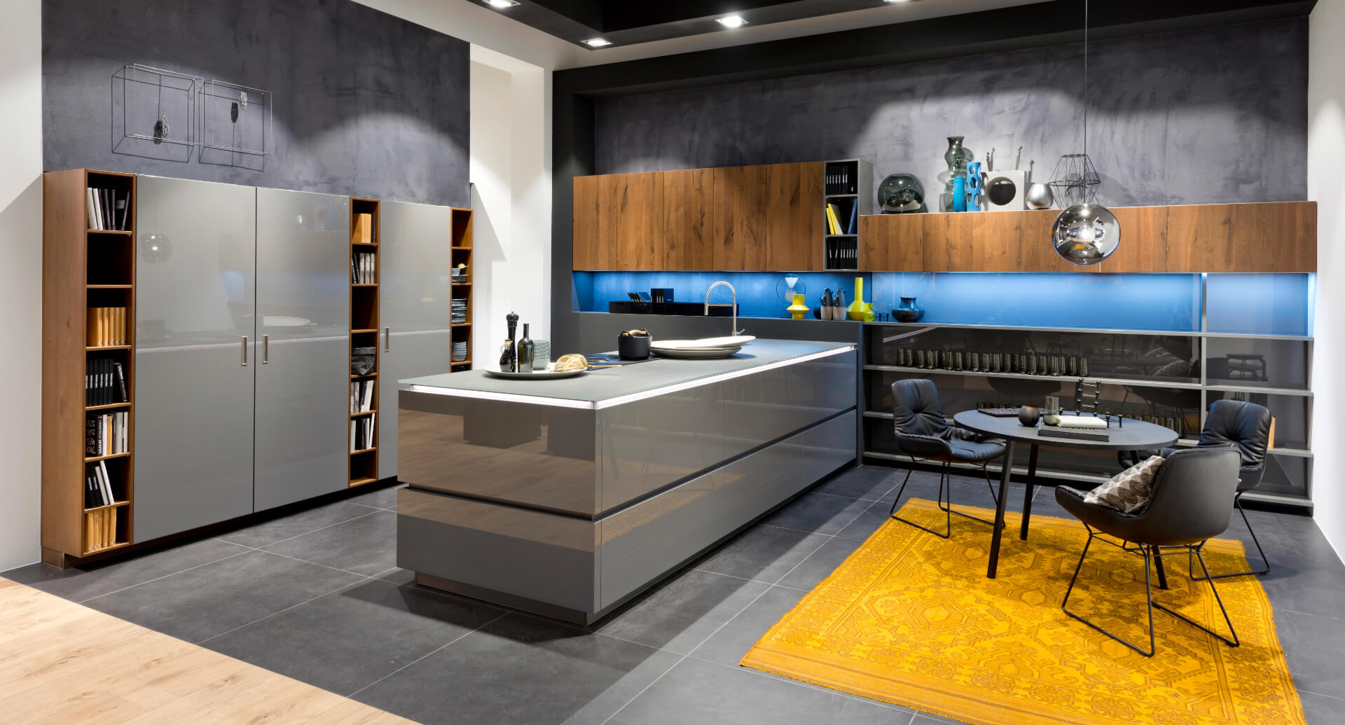 Nolte Nova Lack Black Kitchen