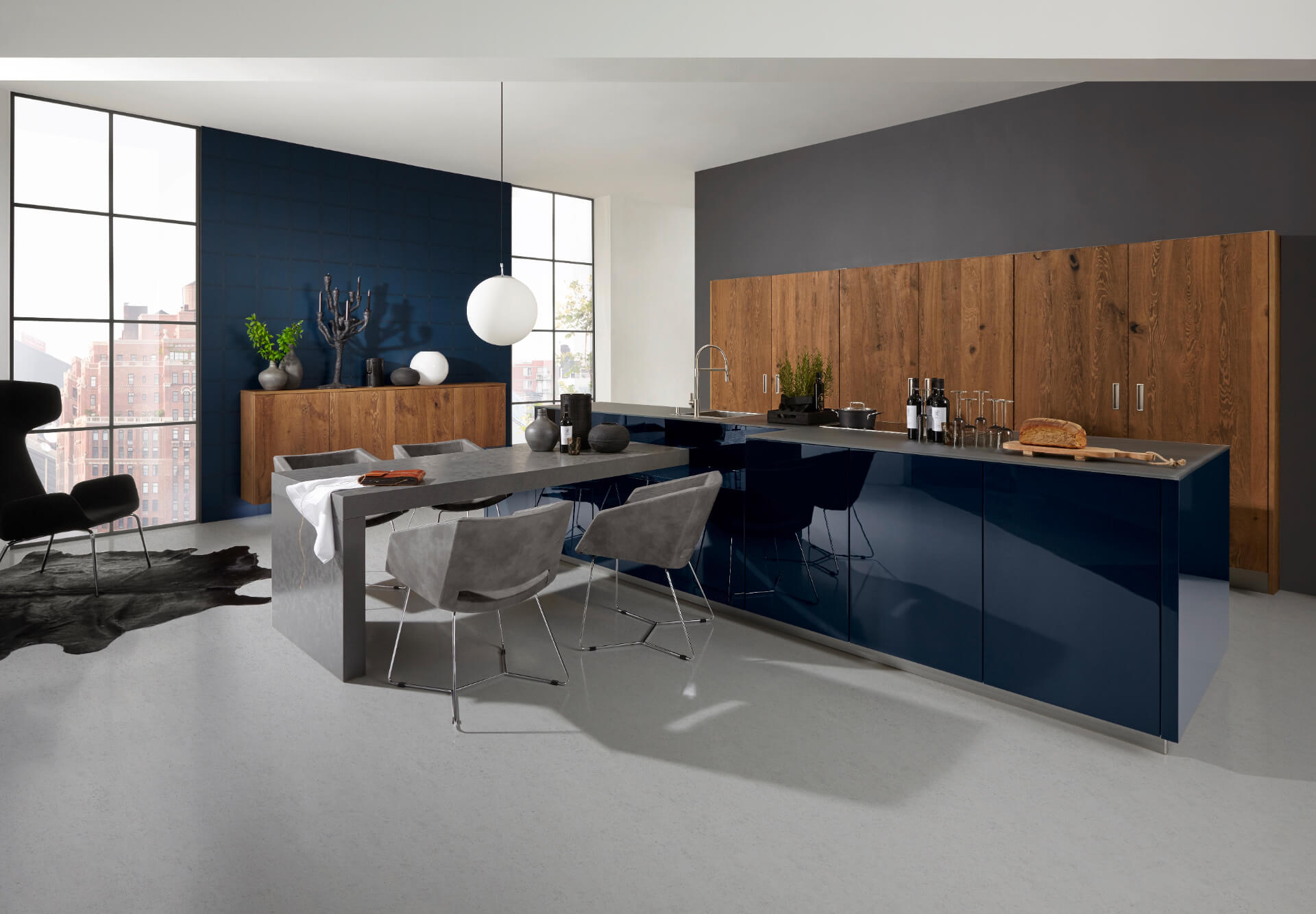 Nolte Nova Lack Wooden Kitchen