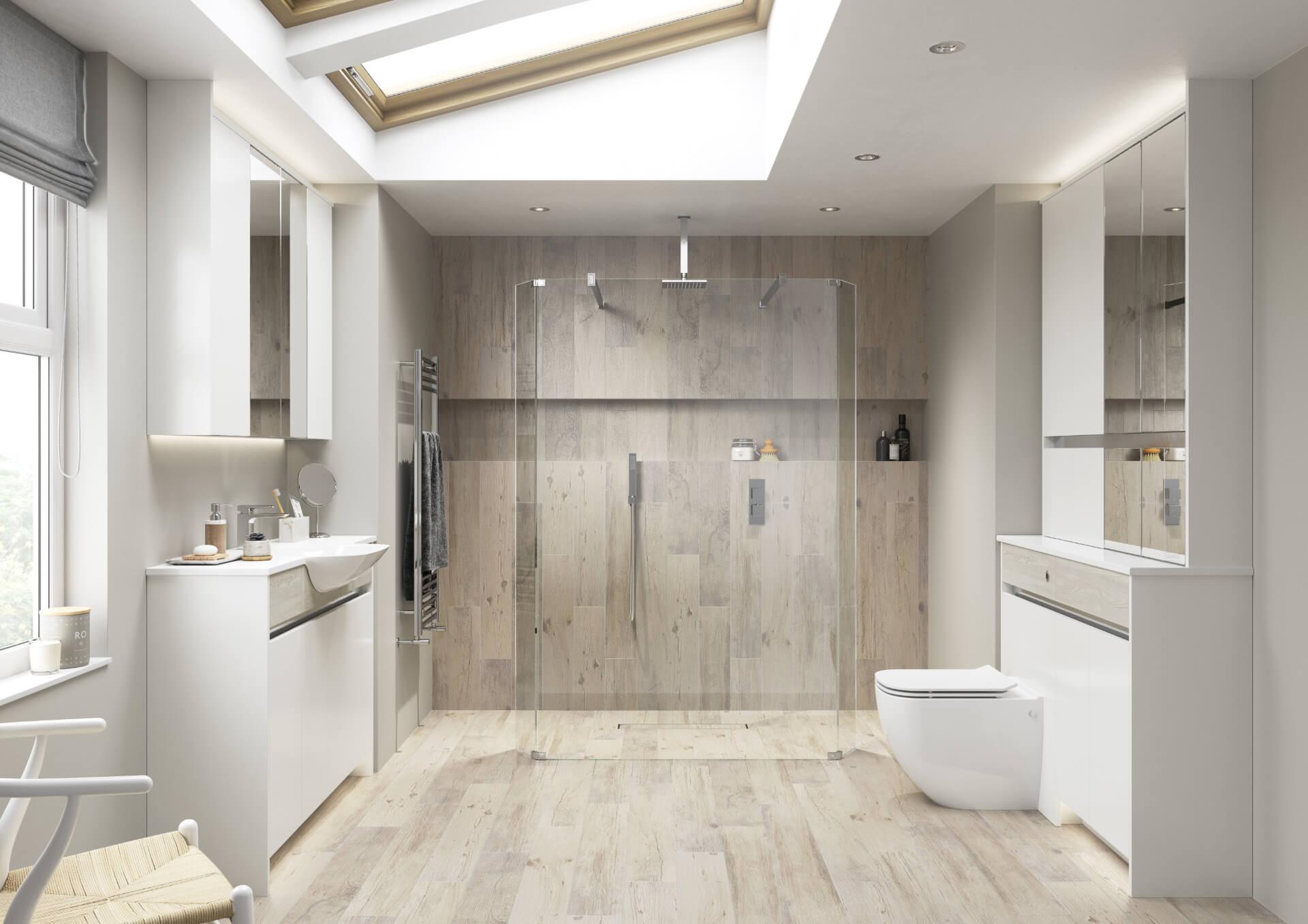 Utopia Bathroom Contemporary Fitted Bathroom