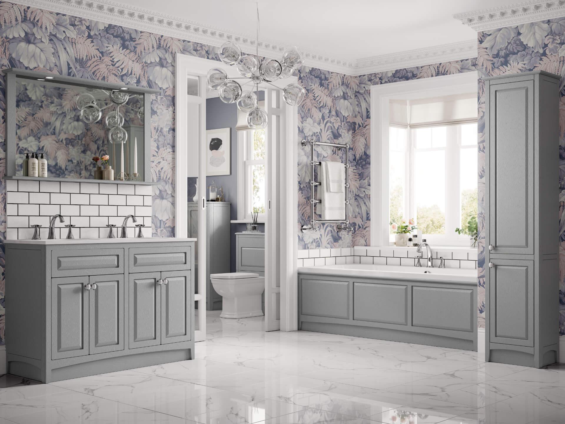 Utopia Bathroom Downton Grey Bathroom