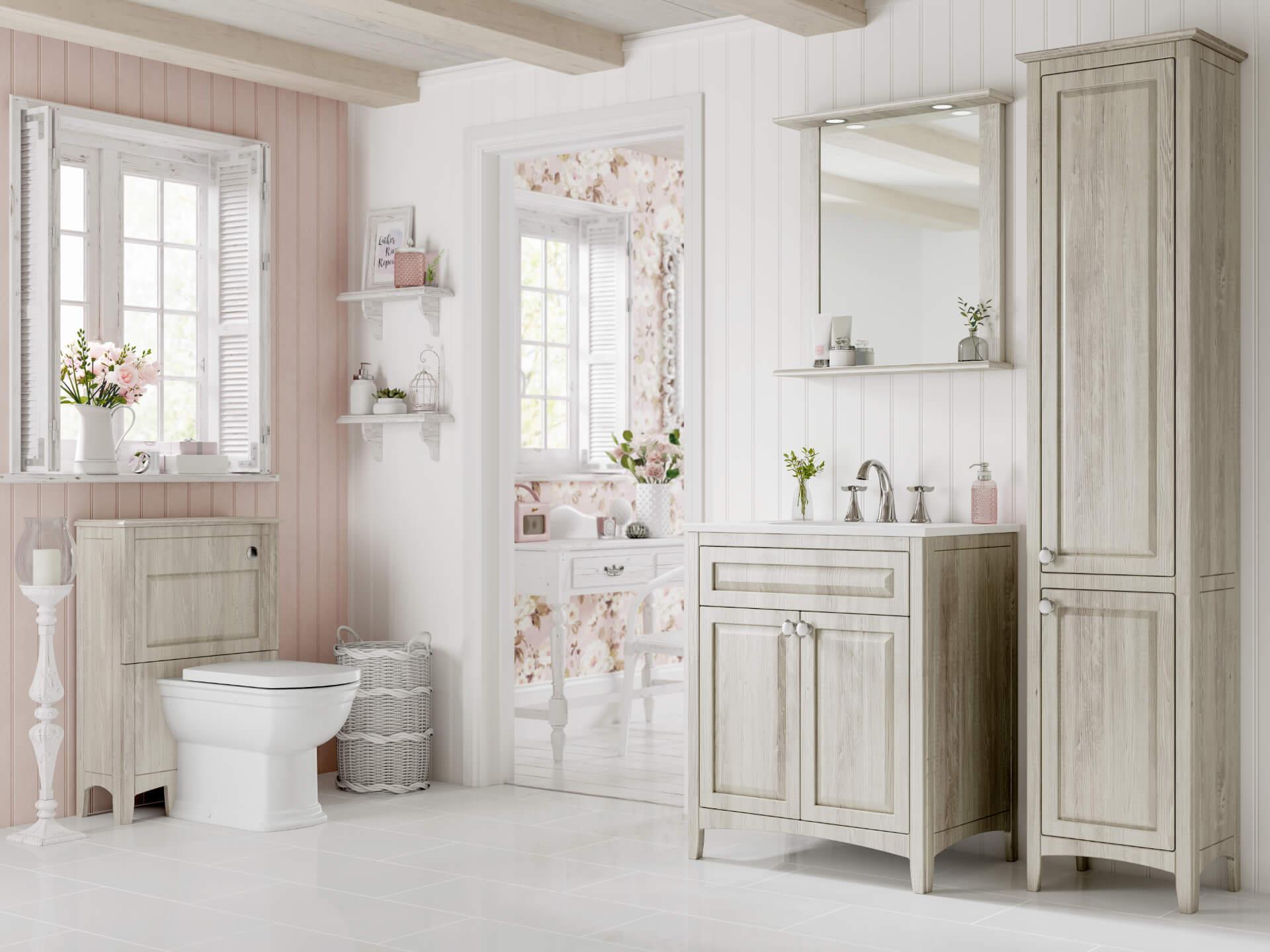 Utopia Bathroom Downton White Bathroom