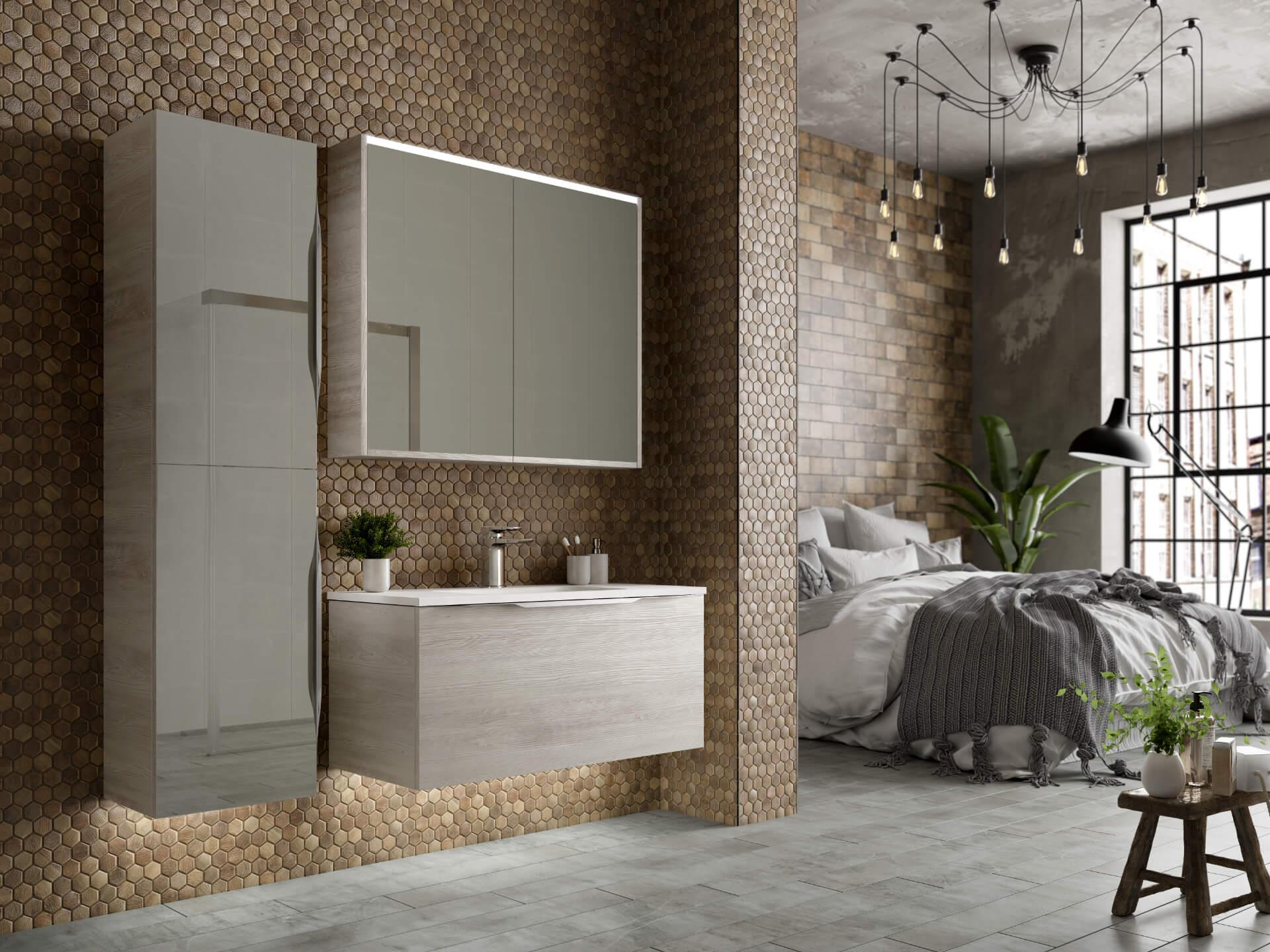 Utopia Bathroom Halo Grey Bahtroom