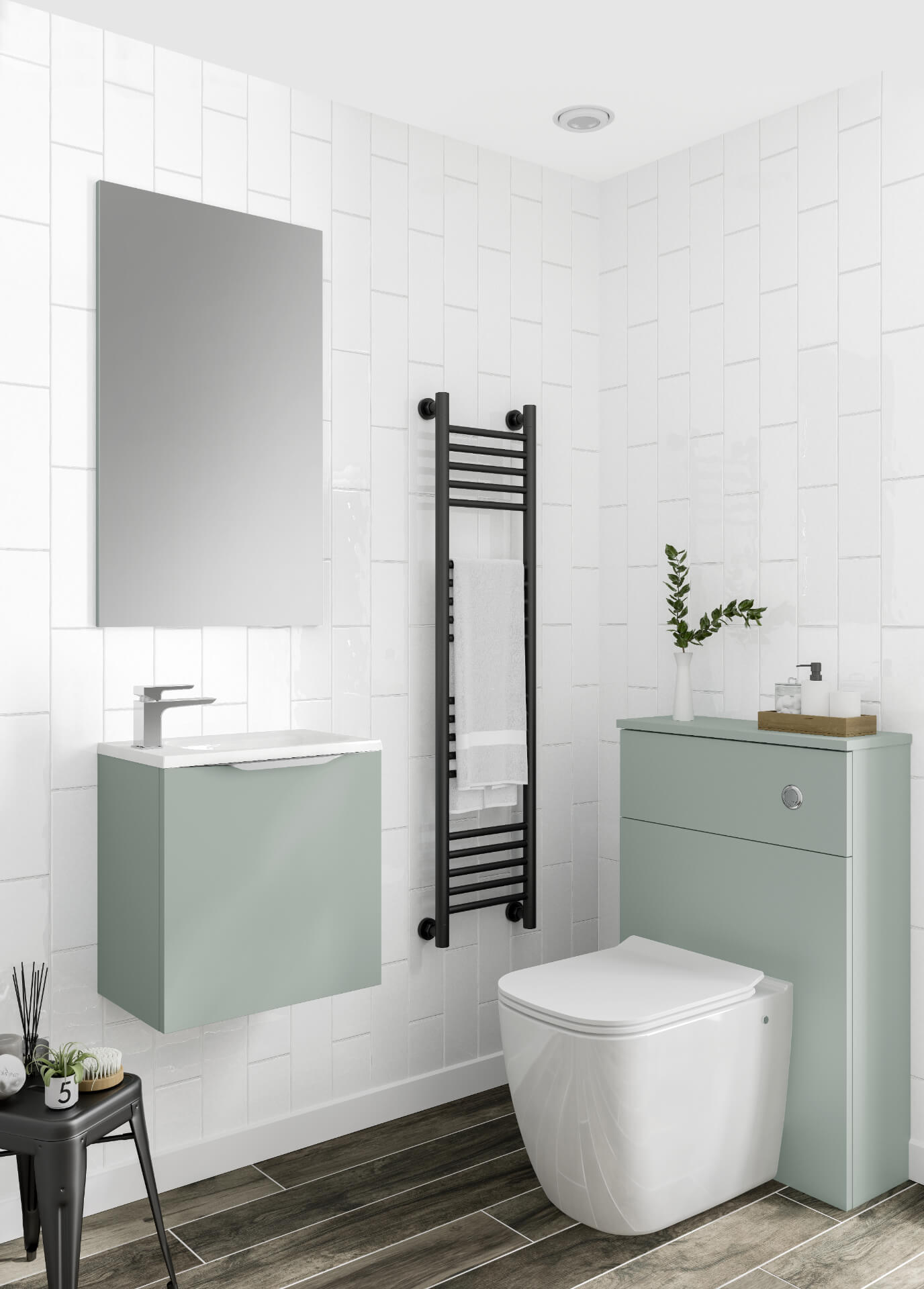 Utopia Bathroom Halo Mint Bahtroom