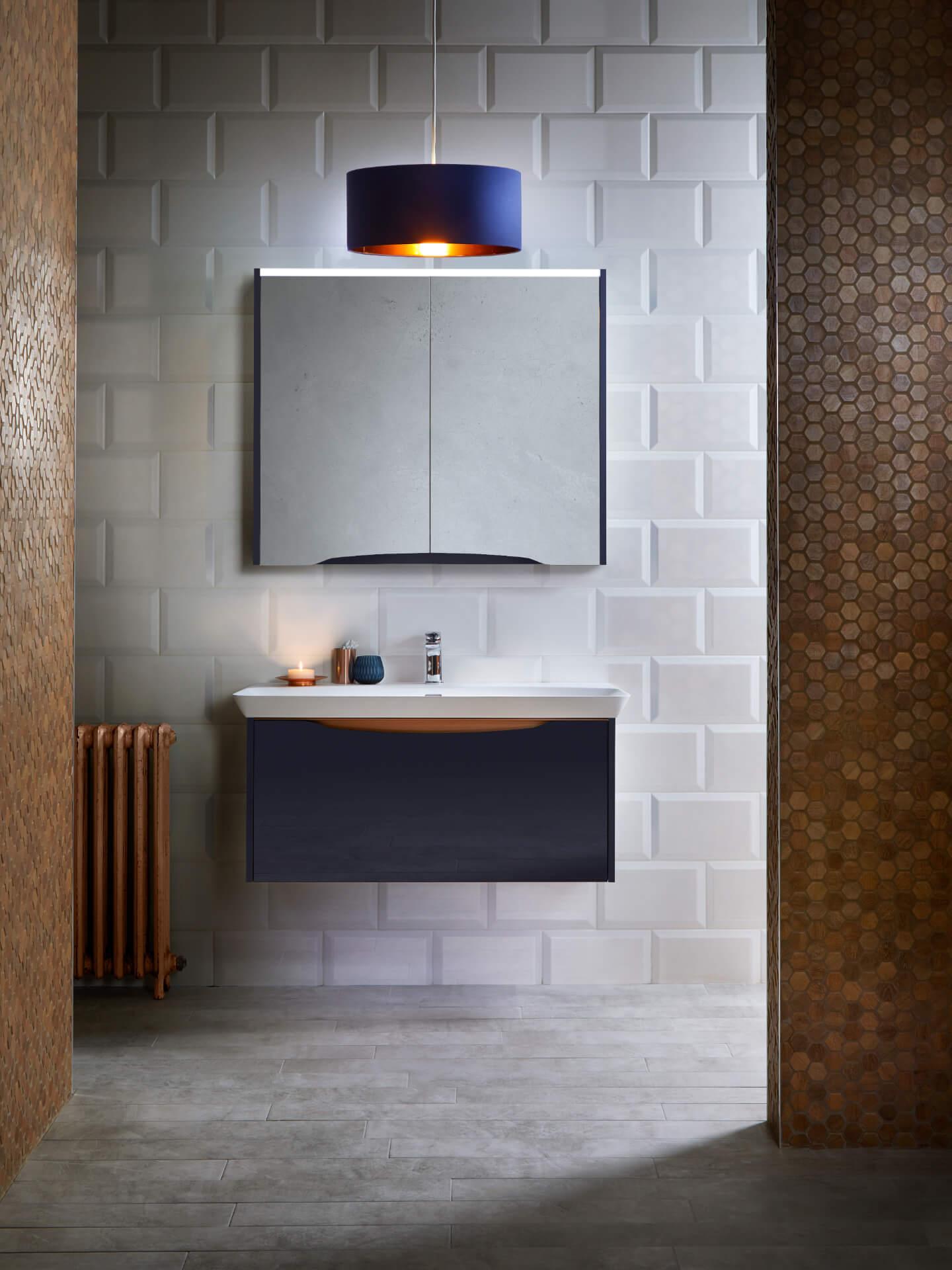 Utopia Bathroom Lustre Grey Batroom