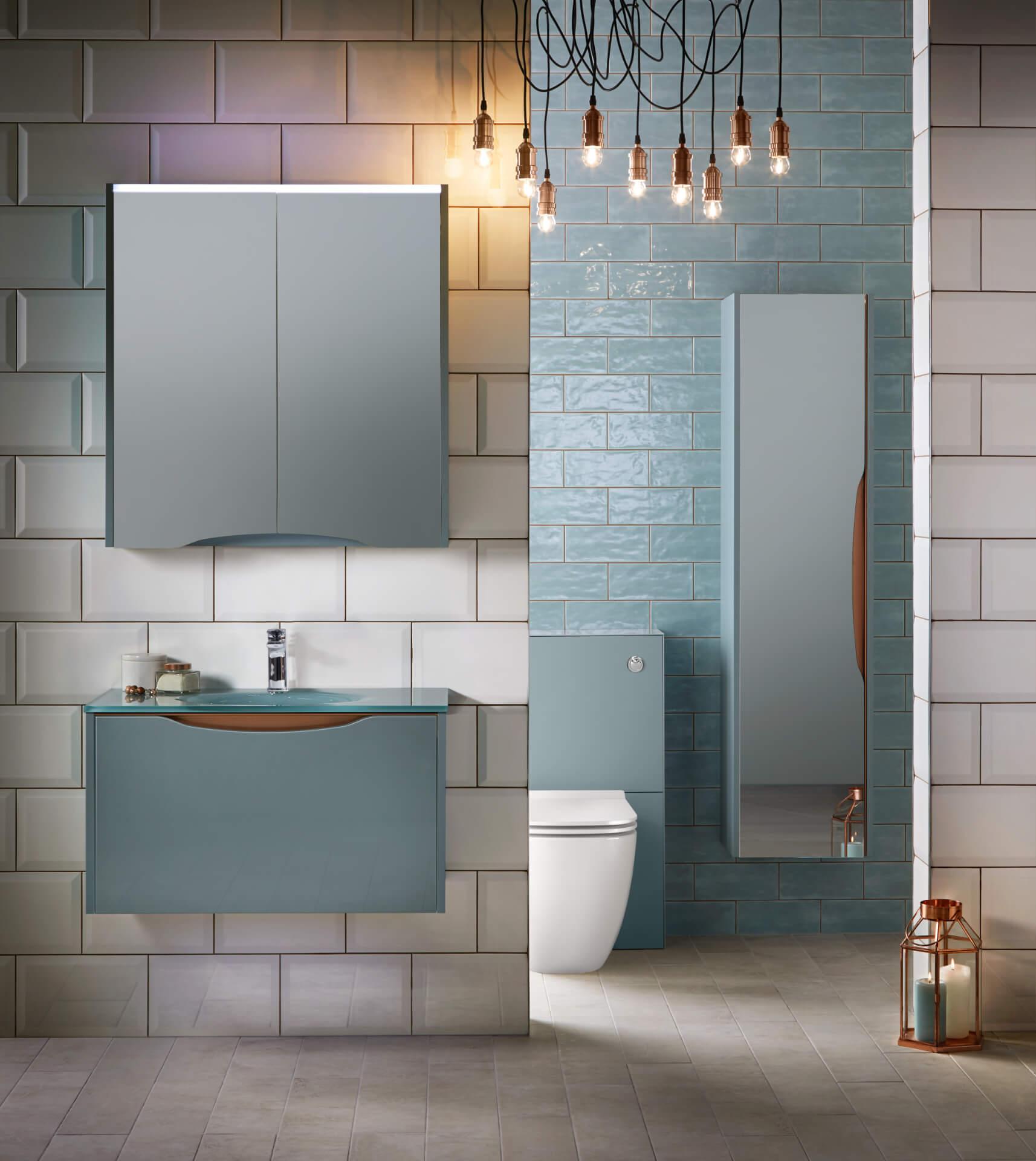 Utopia Bathroom Lustre Mint Bathroom