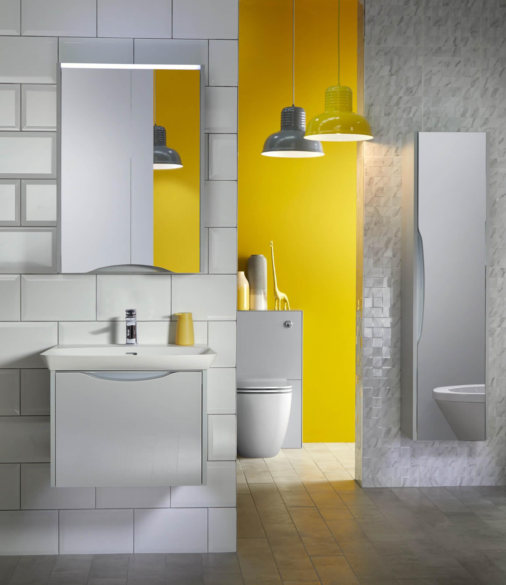 Utopia Bathroom Lustre White Bathroom