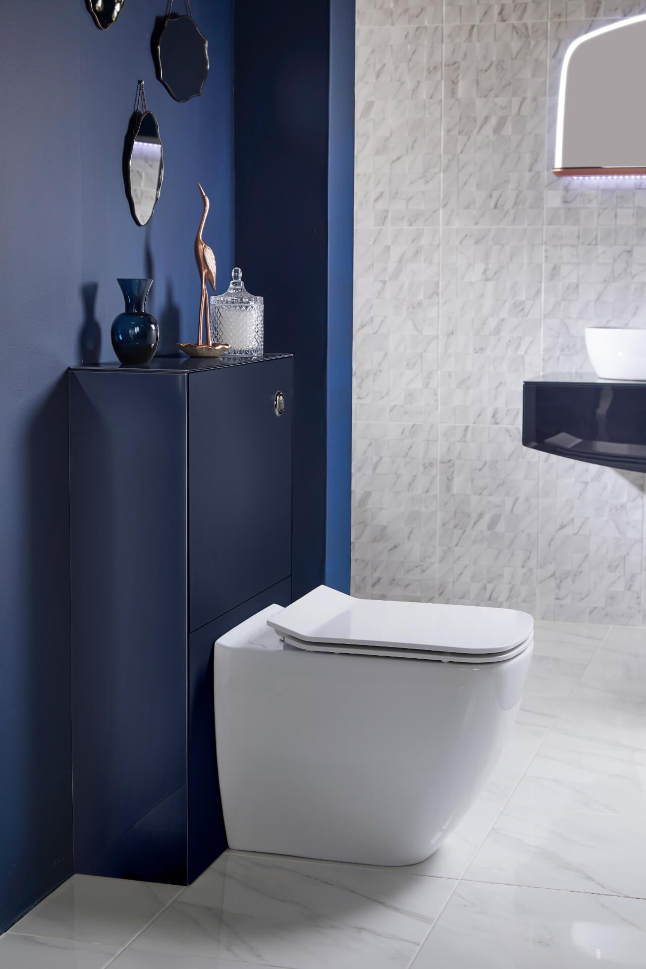 Utopia Bathroom Opula Indigo Toilet Unit