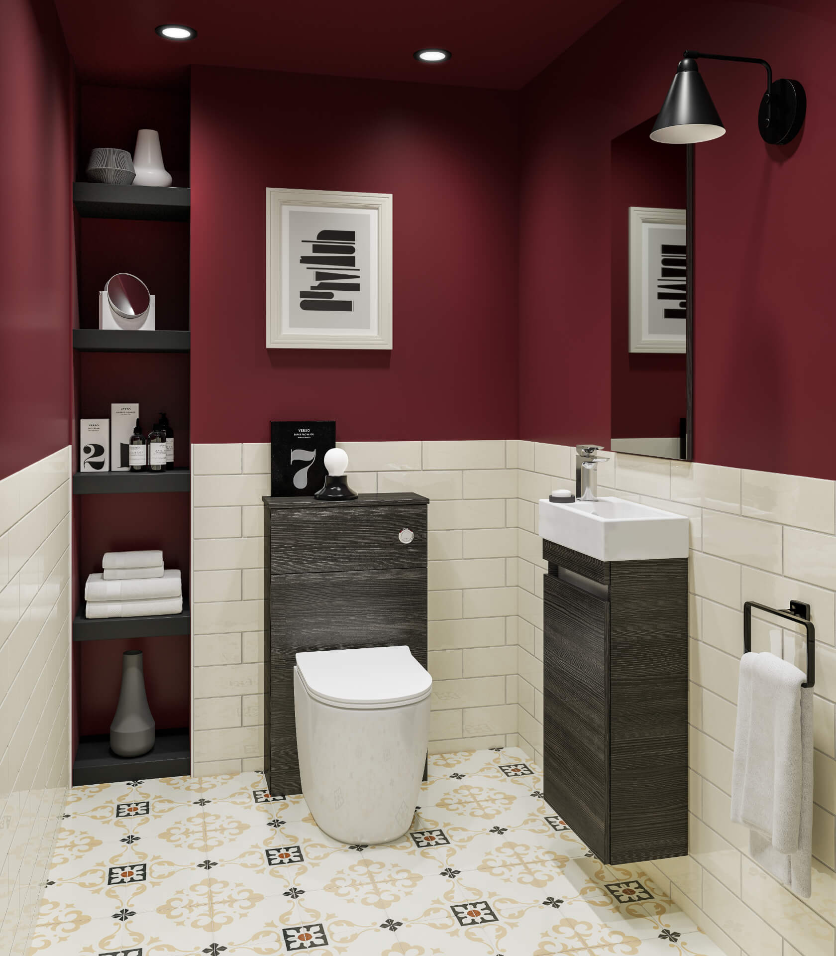 Utopia Bathroom Qube Wooden Bathroom