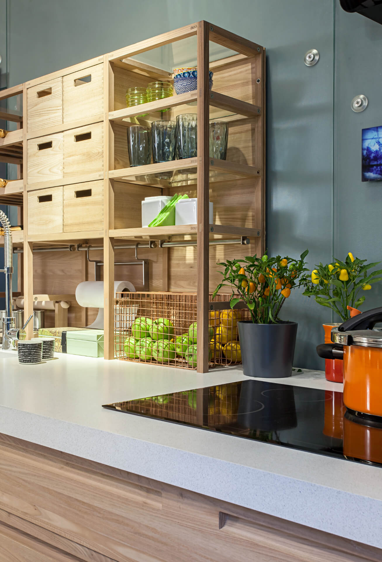 Cosentino Silestone Wooden Kitchen