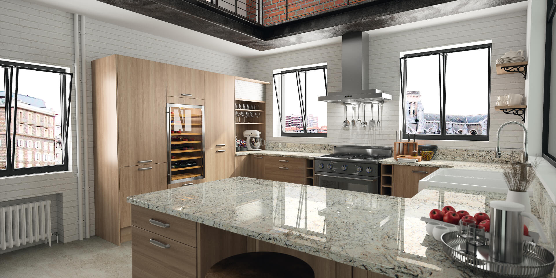 Cosentino Sensa Marble Kitchen