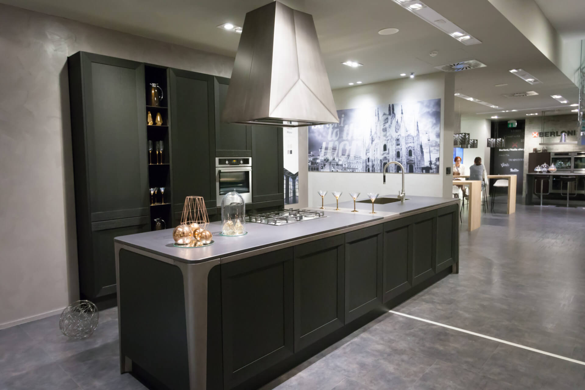 Cosentino Dekton Grey Kitchen