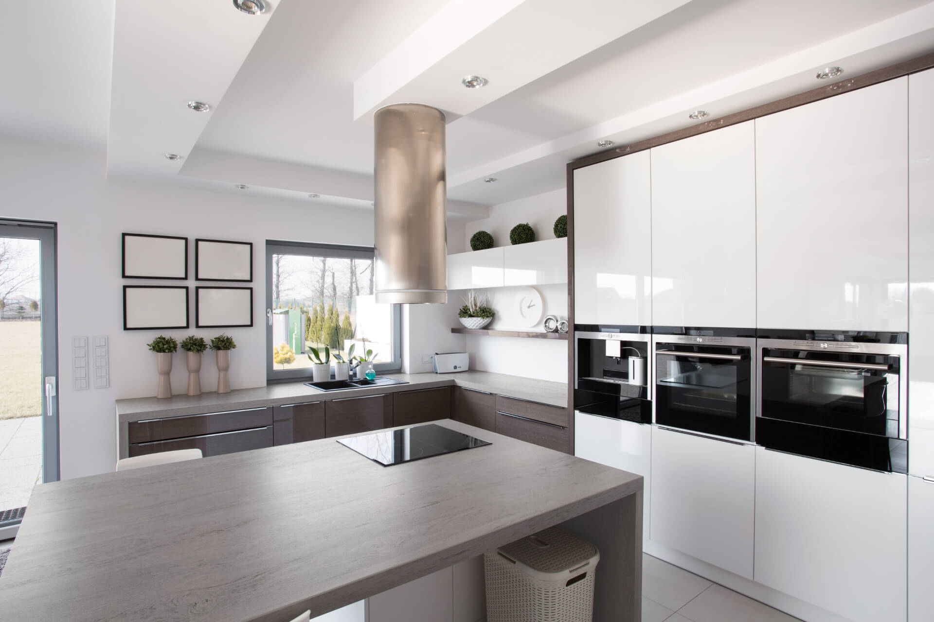Cosentino Dekton White Shine Kitchen