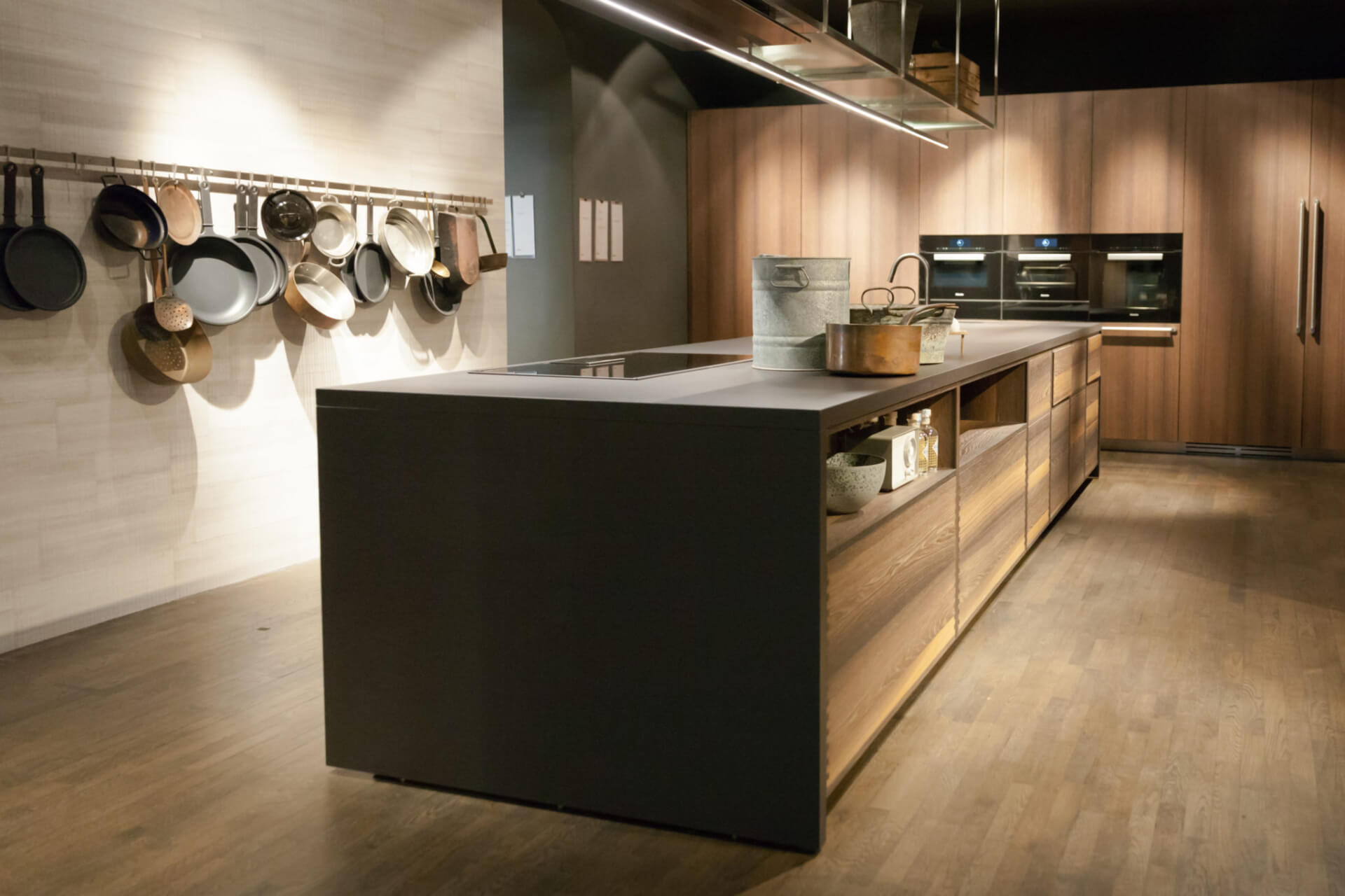 Cosentino Dekton Wooden Kitchen