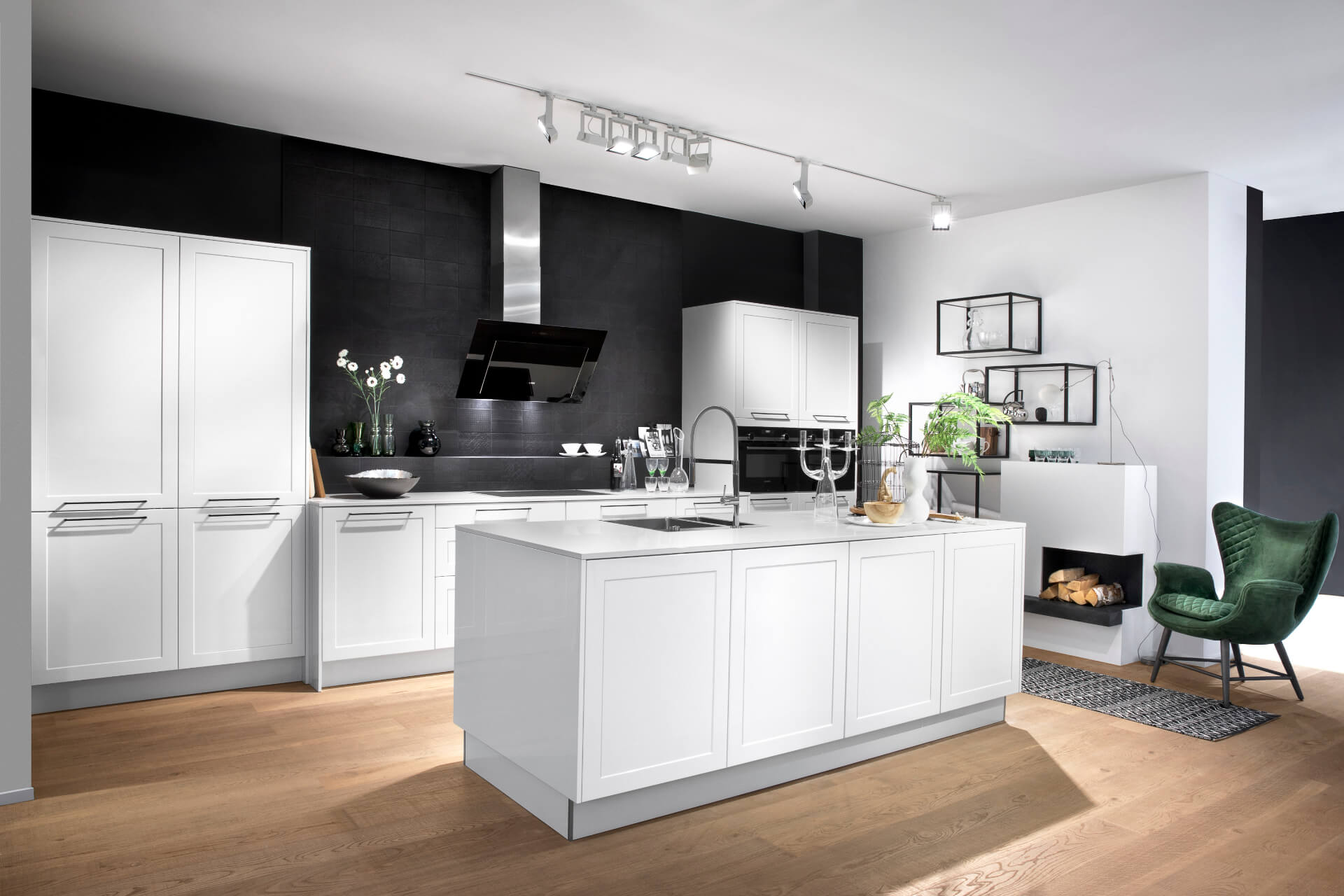 Cosentino Dekton White Matte Kitchen