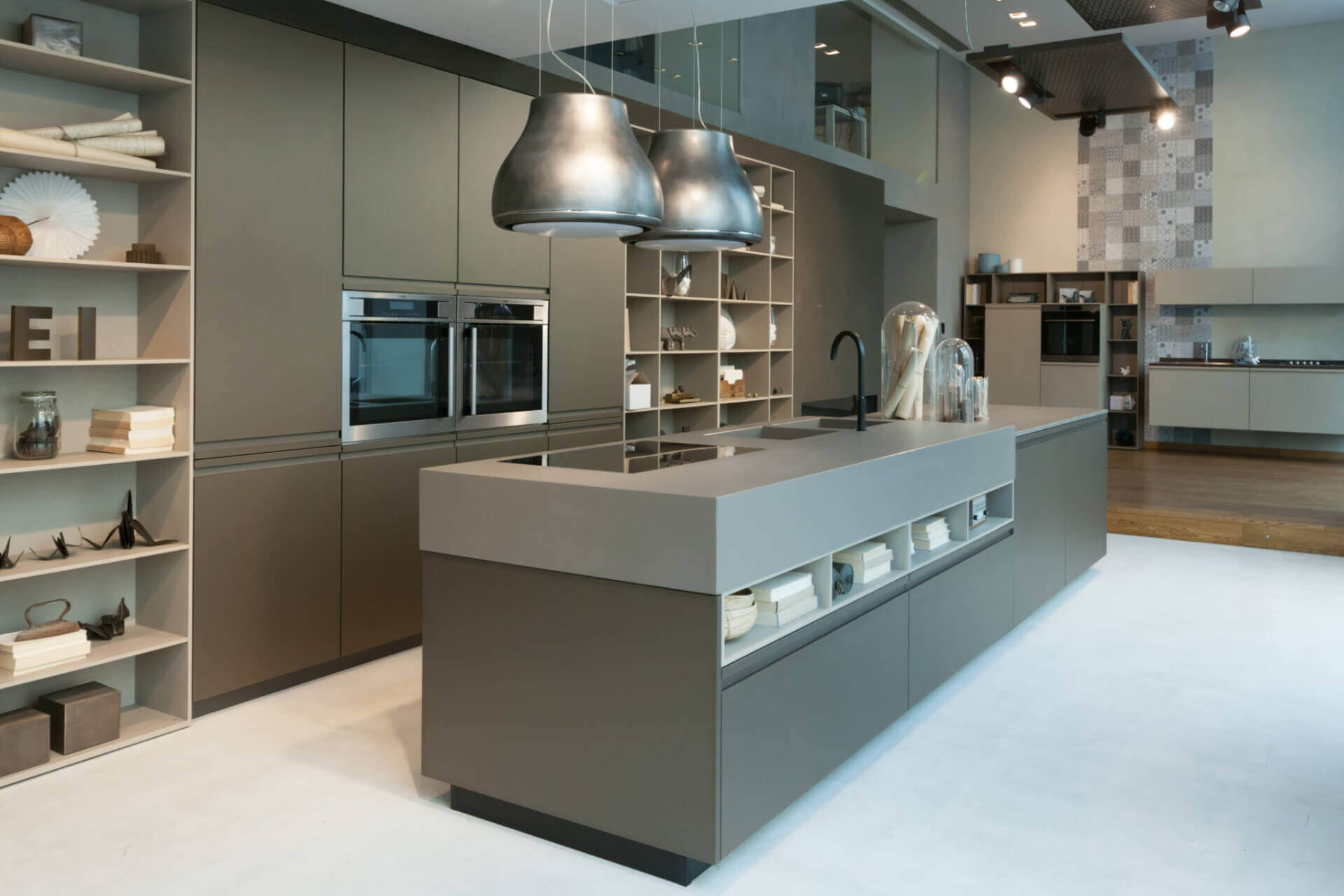 Cosentino Dekton Grey Matte Kitchen