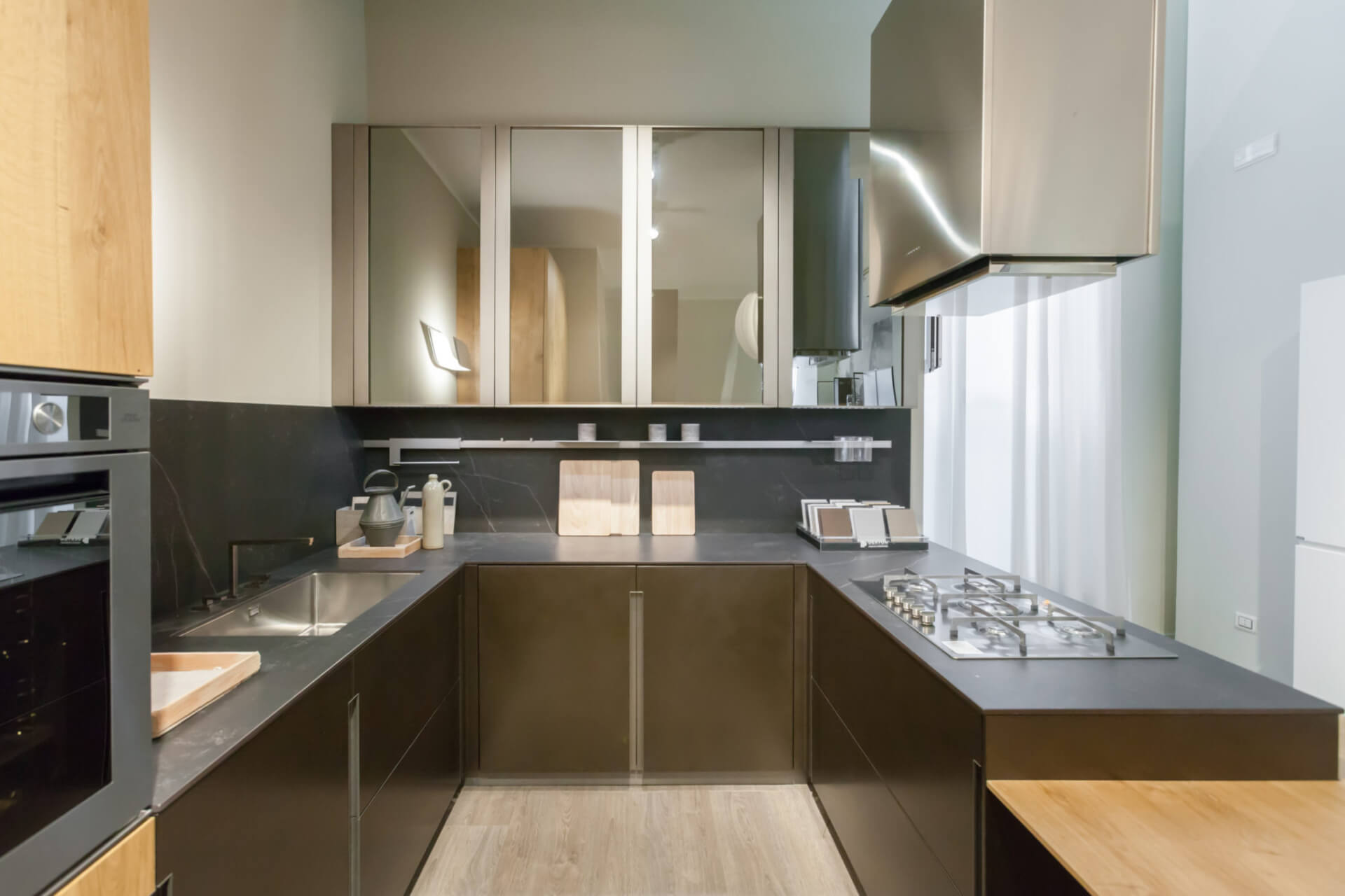 Cosentino Dekton Black Kitchen